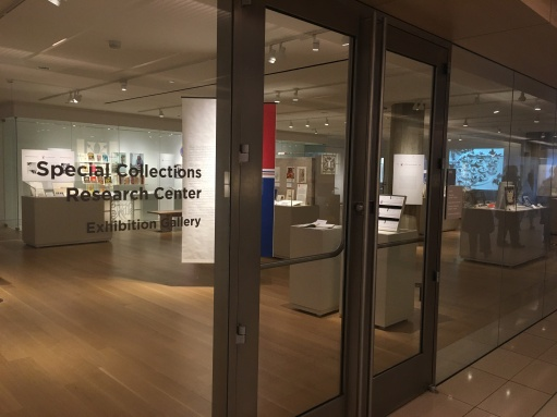 University of Chicago's Special Collections Research Center and Exhibition Gallery
